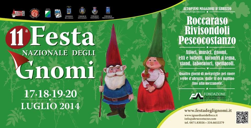 Festa nazionale degli Gnomi a Roccaraso, Rivisondoli e Pescocostanzo. Il programma