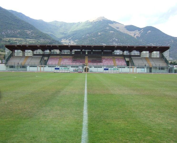 """Castel di Sangro, """"Patini"""" in restyling.  A settembre torna la nazionale under 21"""