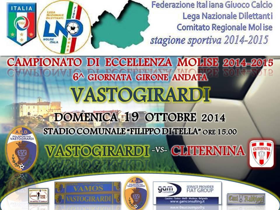 Compito facile per Vastogirardi sulla Cliternina. Risultato finale: 1 -0