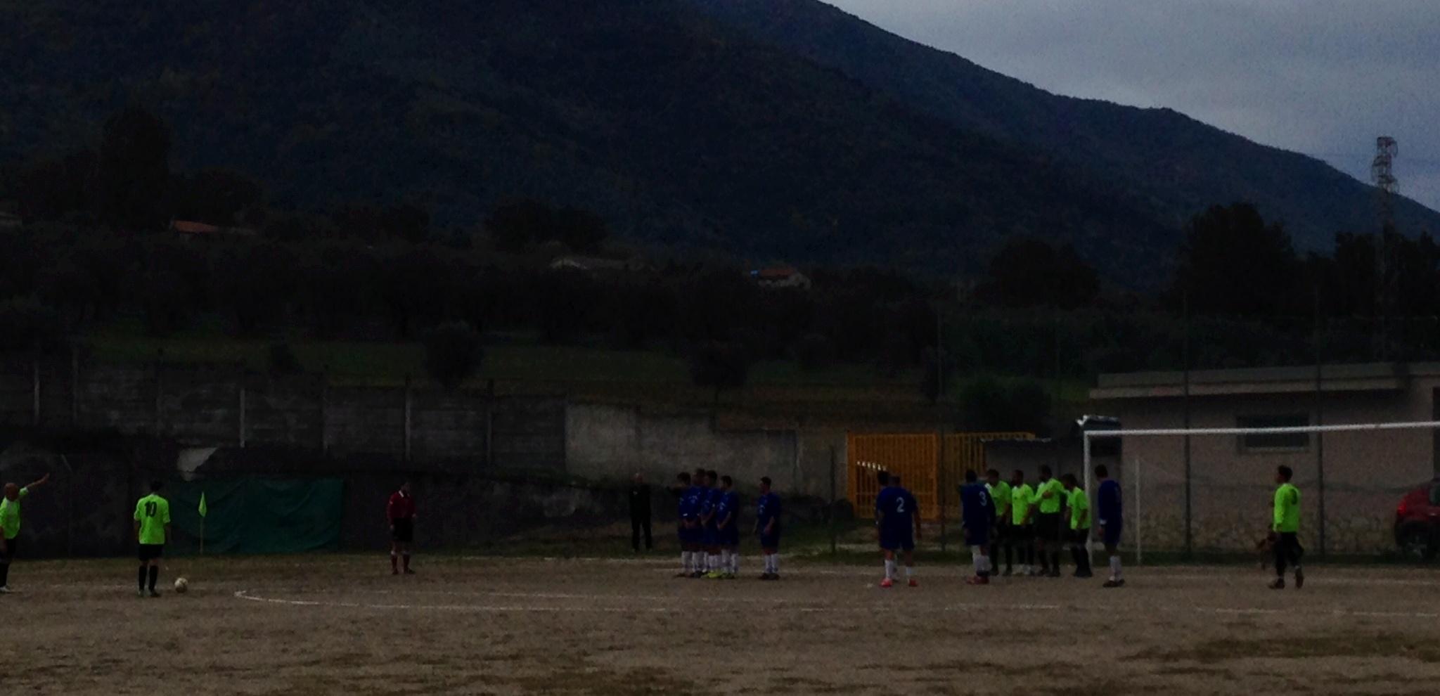 L'Atletico Sanniti pareggia sul campo difficile del Carullo: 1 - 1