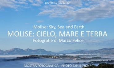 Molise: cielo, mare e terra. Al via la personale di Felice dal 4 al 8 marzo