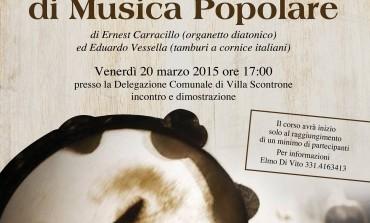 Villa Scontrone, a scuola di musica popolare con Carracillo e Vessella