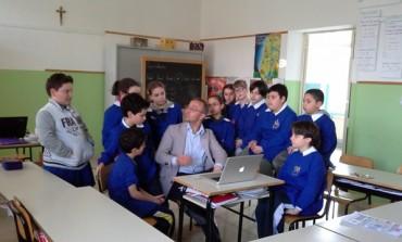 Il futuro dell'editoria sul web, TeleAesse in cattedra alla scuola di Ateleta