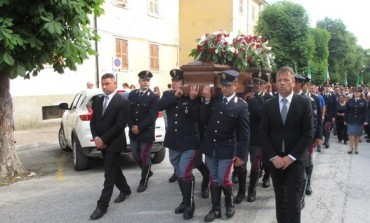 Ateleta in lacrime per l'ultimo saluto a Pierluigi Monaco