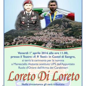 manifesto di loreto
