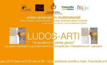 """A Francavilla al Mare il simposio di scultura """"Ludos-Arti"""""""