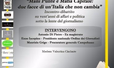 """Memorial Francesco Casale, """"Mani pulite e mafia capitale: due facce di un'Italia che non cambia"""""""
