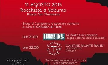 'Tradizione in divenire', festival della musica a Rocchetta a Volturno