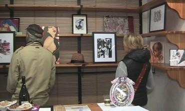 Alfedena, vernissage di 'Jule art' con Giuliana Amorosi