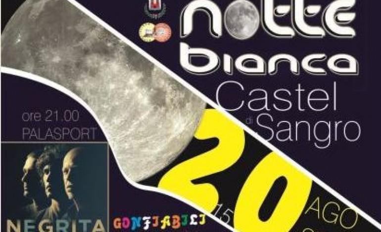 Giovedì 20 agosto: notte bianca a Castel di Sangro