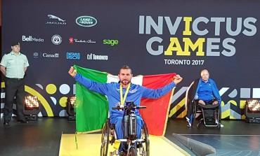 Toronto, Invictus Games: il castellano Di Loreto conquista tre medaglie per l'Italia