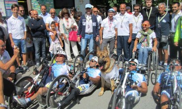 Castel di Sangro abbraccia gli atleti del 'Handbike'