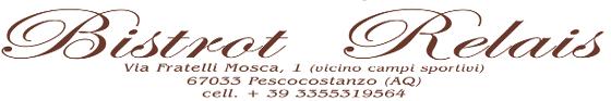 Bistrot Relais Pescocostanzo