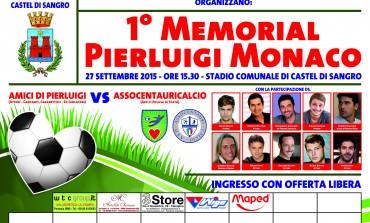 Castel di Sangro 'Memorial Pierluigi Monaco', domenica 27 l'incontro di calcio