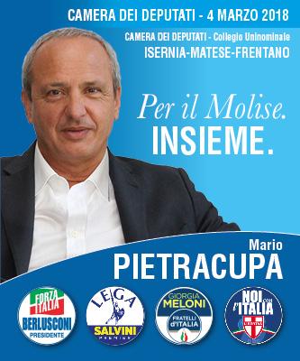 Mario Pietracupa Per il Molise Insieme - Camera dei Deputati - Elezioni 2018