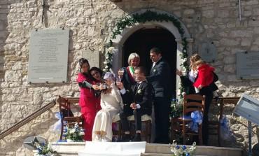 Pizzoferrato, celebrato l'amore senza barriere: vince la vita