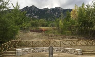 Castelnuovo a Volturno, opere di riqualificazione al cippo Pintor
