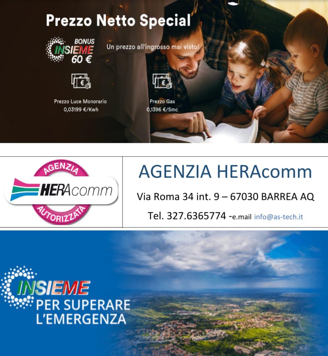 Hera offerta luce e gas - Hera Comm