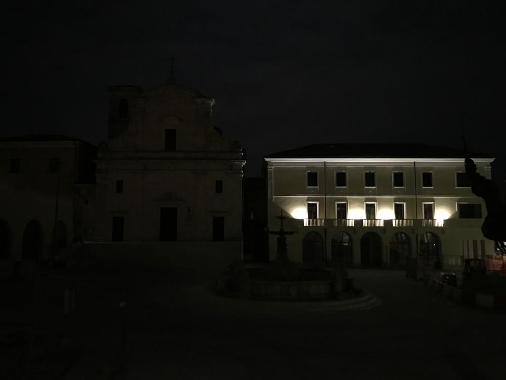 m'illumino di meno Piazza Plebiscito Castel di Sangro