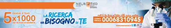 Dona il tuo 5x1000 per la Ricerca Sanitaria - Neuromed