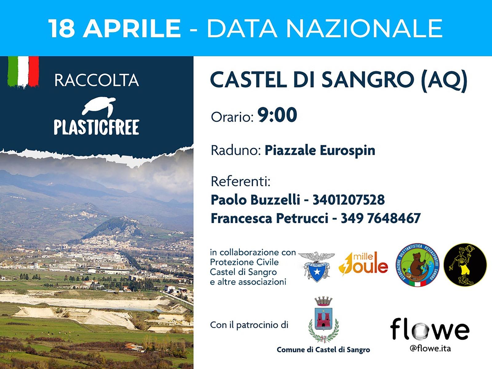 Raccolta Plastic free Castel di Sangro