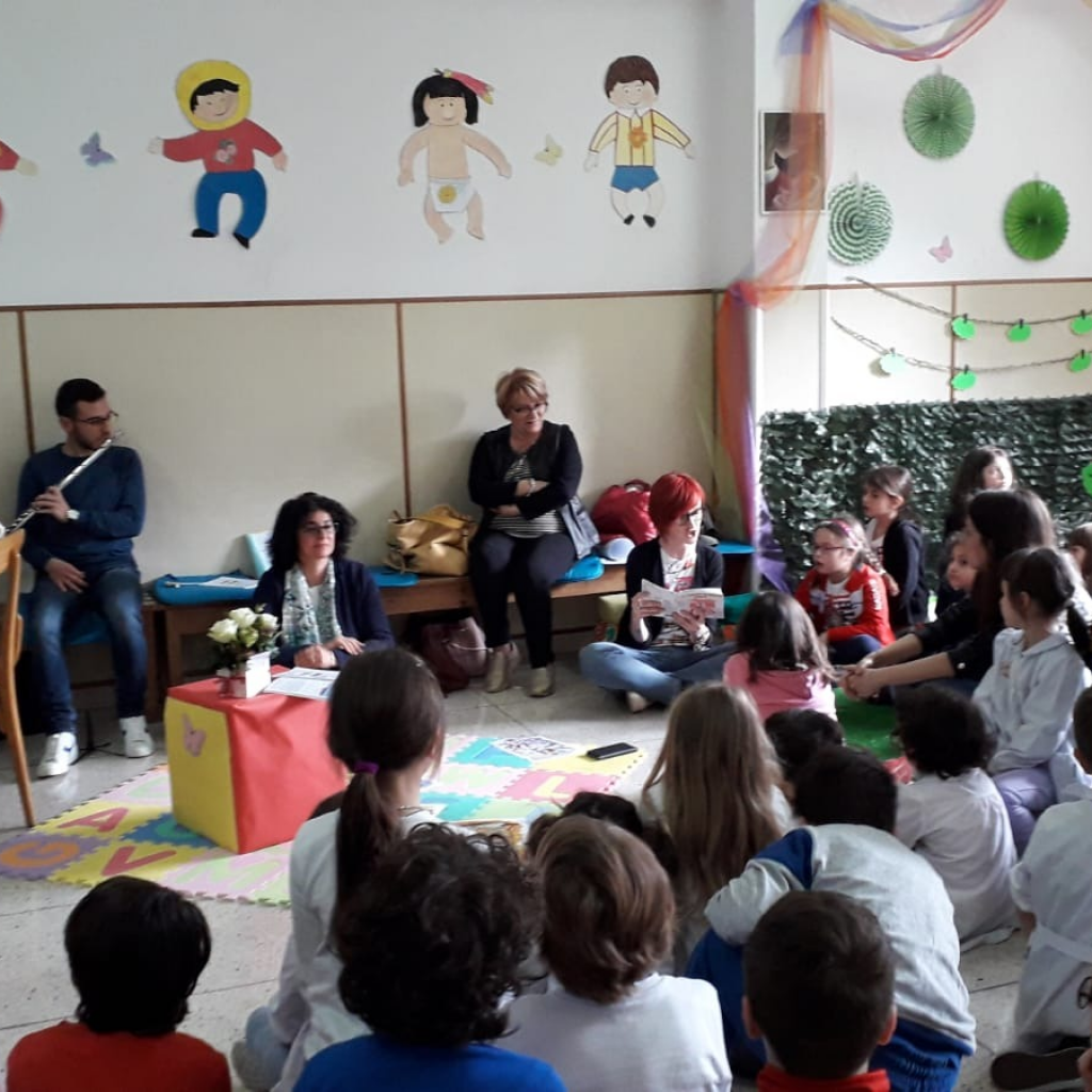 Sala lettura dell'Istituto Gesù Bambino di Lanciano dedicata a Ilaria