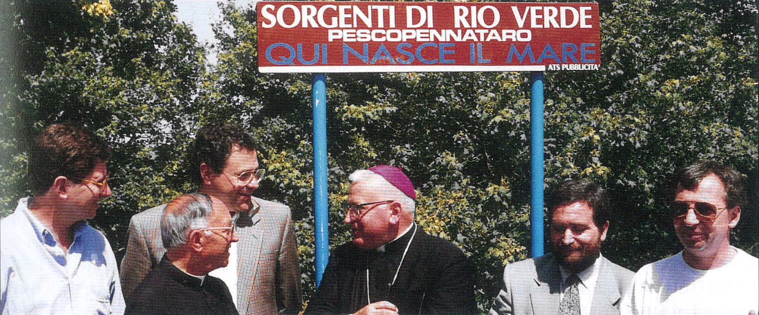 QUI NASCE IL MARE 13 agosto 1992 Rio Verde PRIMA FESTA DEL MARE