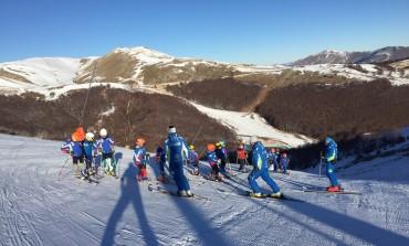 Gli sciatori campani inaugurano la stagione invernale a Castel di Sangro