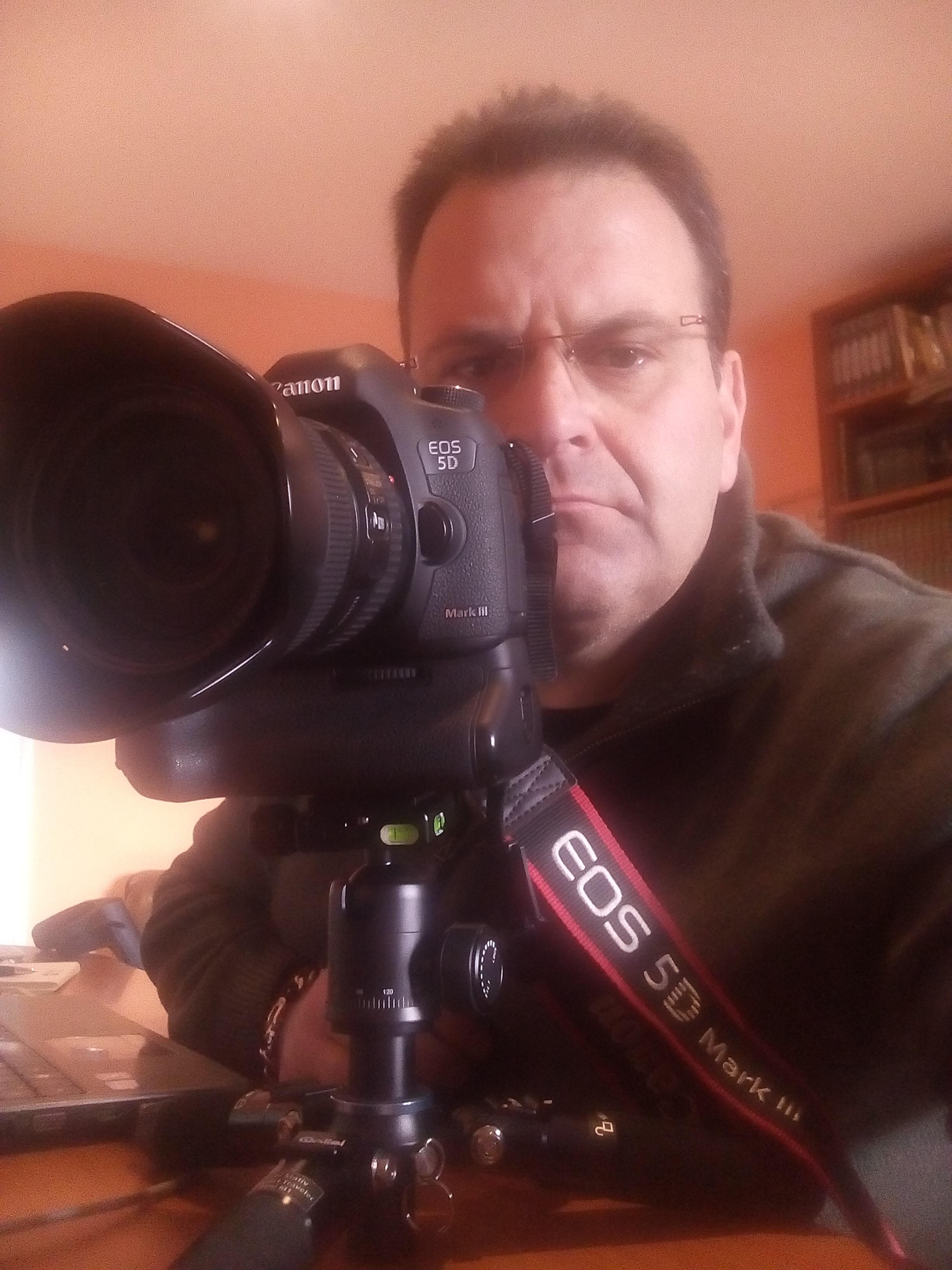 giornalista Vitorio Labanca di Agnone - vincitore mostra foto tassisti