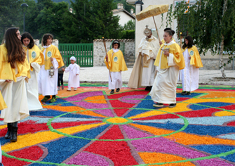 Infiorata Civitella 2