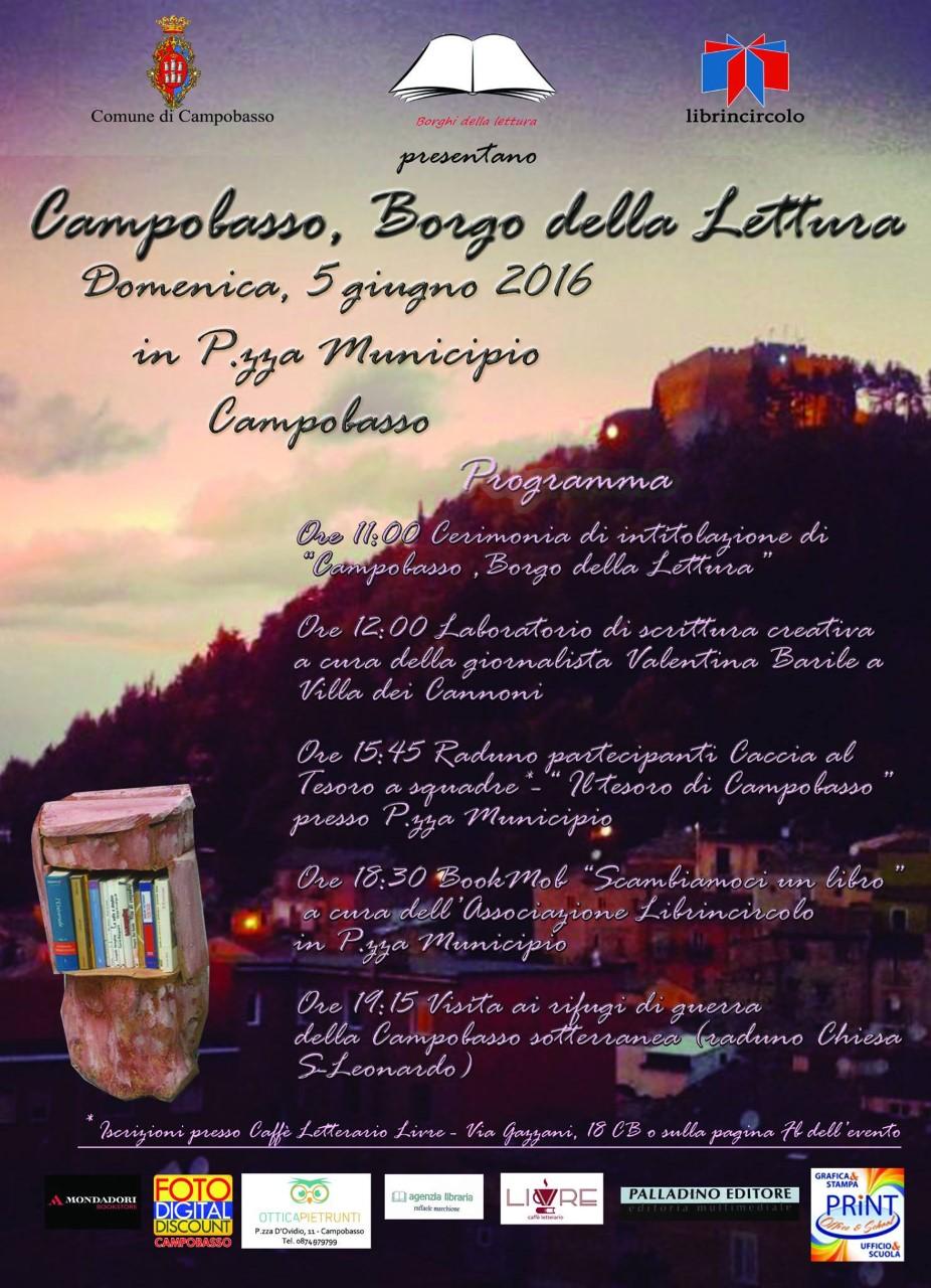 thumbnail_Campobasso Borgo della Lettura locandina evento 5  Giugno