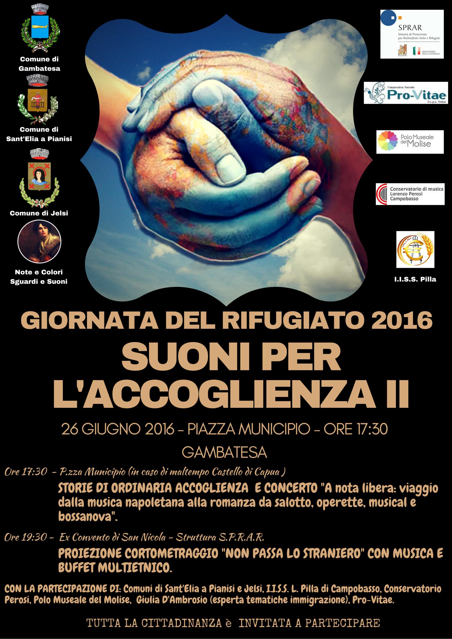 Locandina - Giornata del Rifugiato 2016