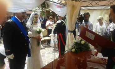 Nozze - Auguri agli sposi Domenico e Sonia