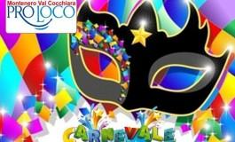 Carnevale, mascherata in piazza a Montenero Val Cocchiara
