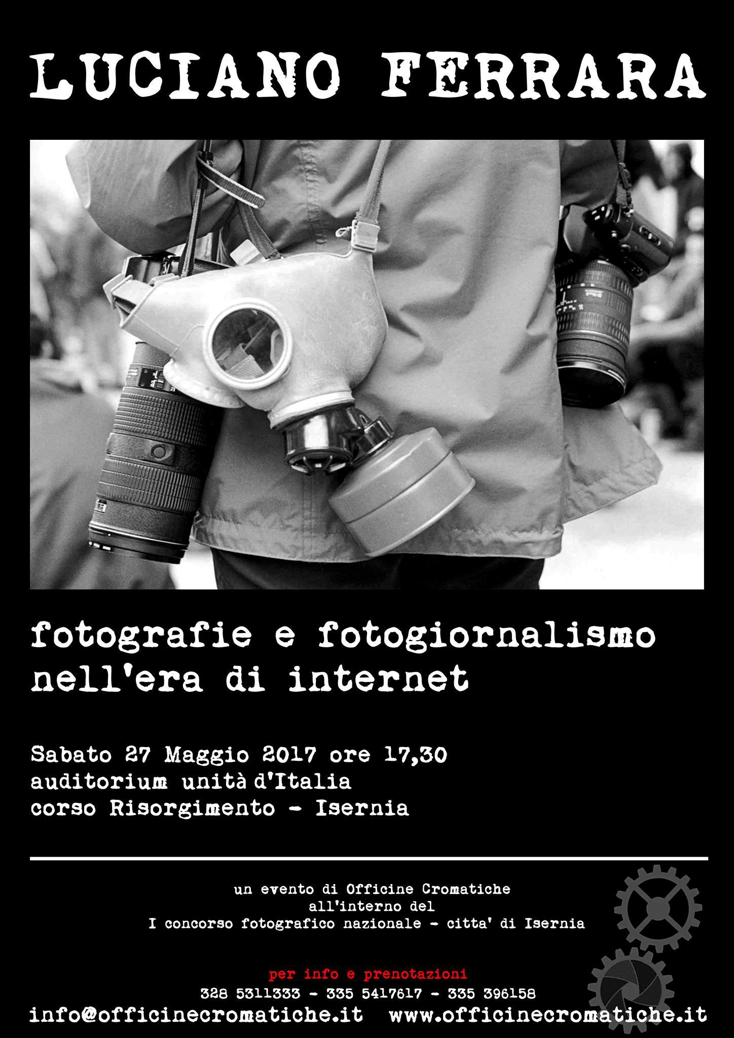 Luciano Ferrara Fotografie e fotogiornalismo nell'era di internet