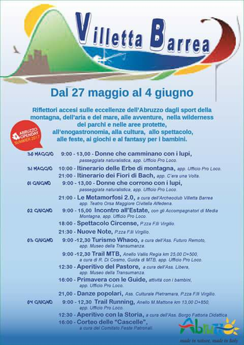 locandina summero open day