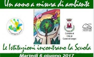 Castel di Sangro, un anno a misura di ambiente: le istituzioni incontrano la scuola