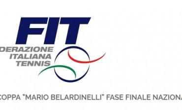 Tennis - Castel di Sangro, cerimonia d'apertura della coppa 'Mario Belardinelli'