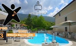 Villetta Barrea - 'Area Sanremo Tour', le prime selezioni all'Hotel degli Olmi