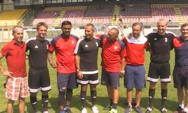 Castel di Sangro, i giovani di Juventus e Arsenal si allenano sui campi del Patini