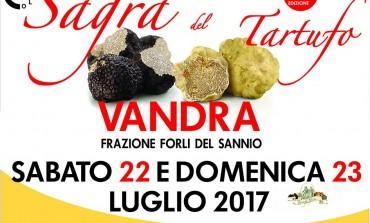 Vandra, due giorni di festa con la 21^ edizione della sagra del tartufo