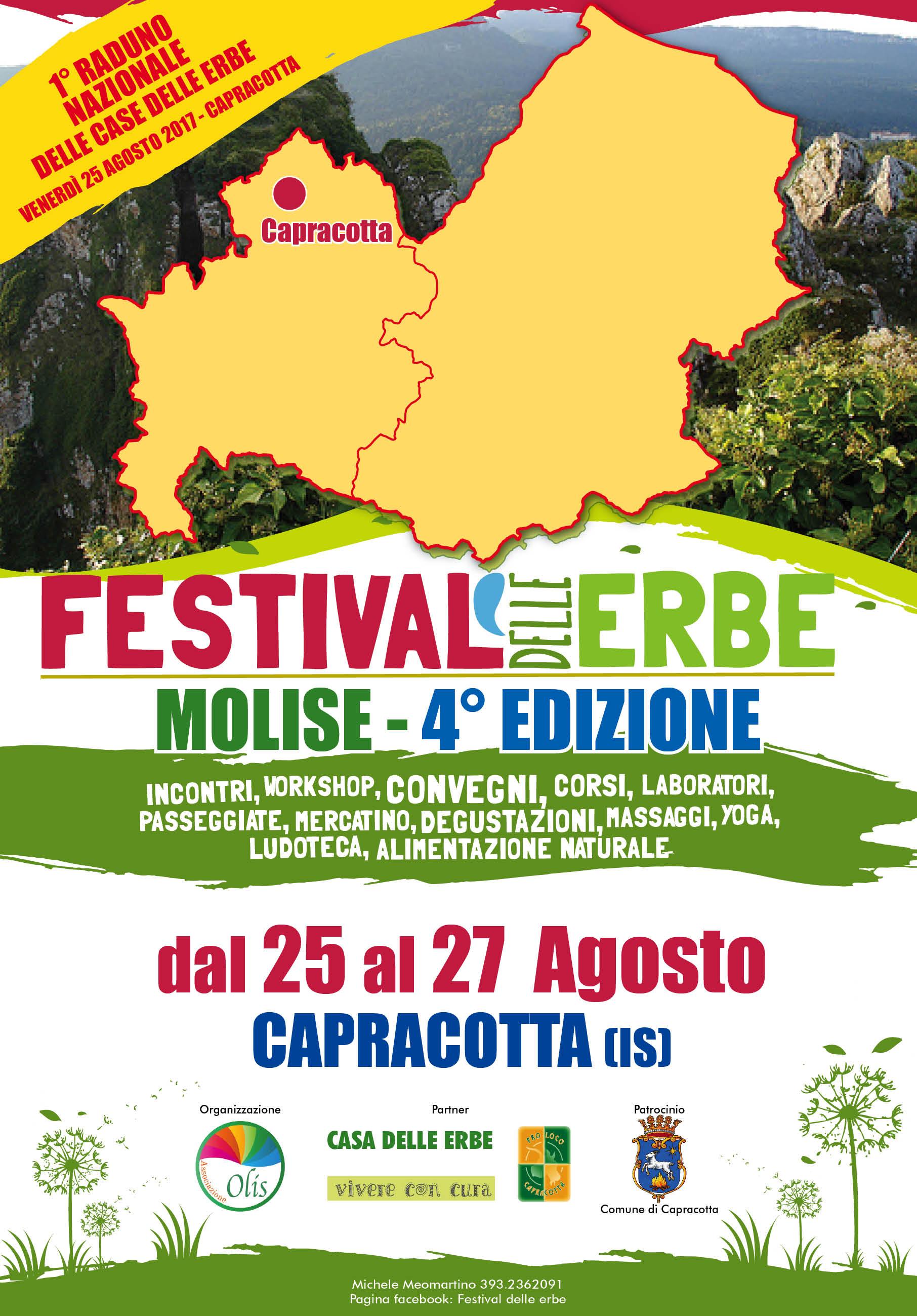 Manifesto festival delle erbe 2017