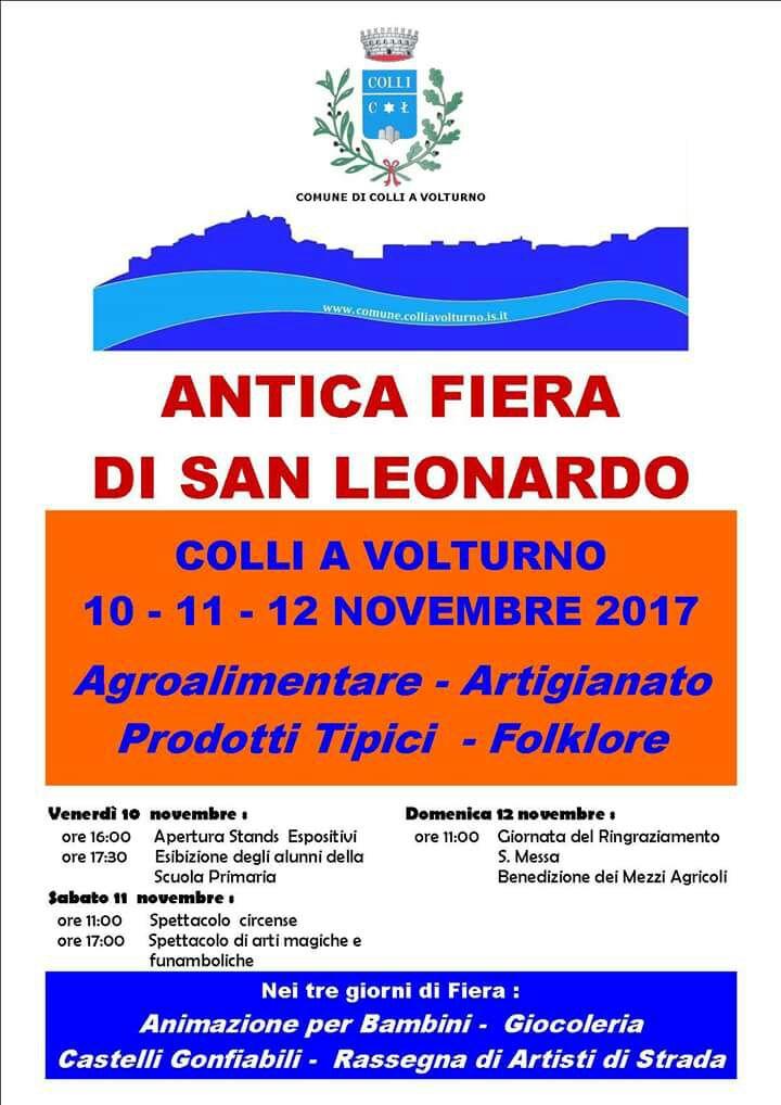 Fiera San Leonardo edizione 2017