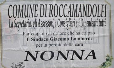 Roccamandolfi, lutto in casa del sindaco Lombardi: è morta la nonna Benedetta