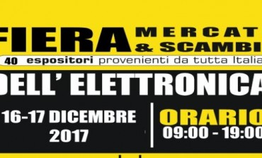Campobasso, fiera - mercato dell'elettronica a Selvapiana