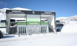 Roccaraso, il ministro Lotti inaugura le nuove cabinovie