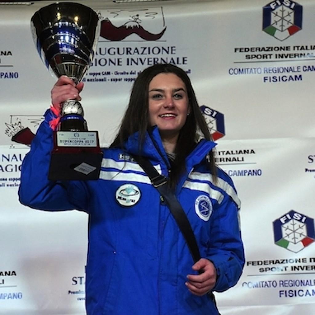 Chiara Carolli, vincitrice Supercoppa