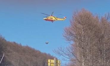 Monte Pratello, grave incidente a sciatore diversamente abile: le immagini esclusive