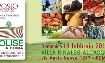"""""""Il Molise a Roma"""", domenica 18 febbraio i gourmet si ritrovano da 'Rinaldo all'acquedotto'"""
