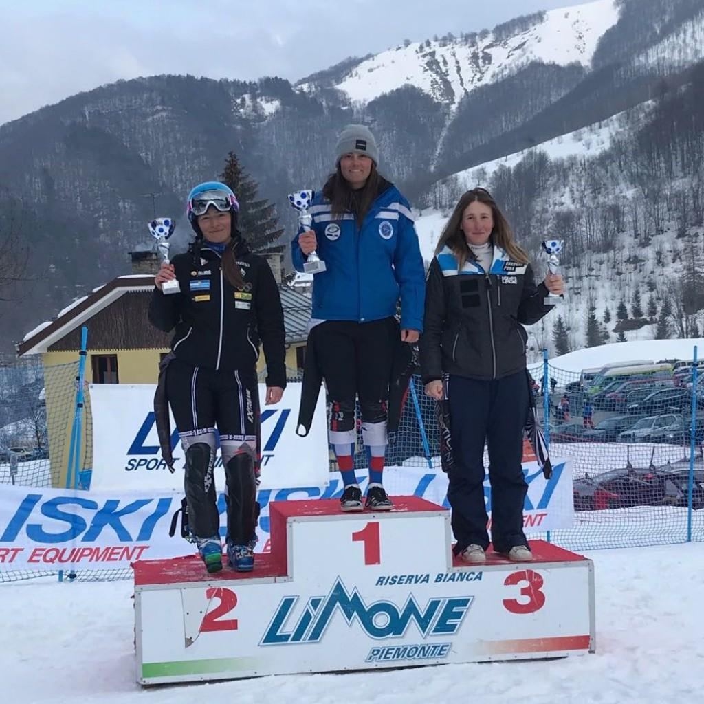 Chiara Carolli podio FIS